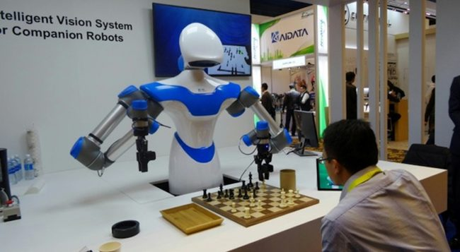 The developed system behavior of robots, which allows them to manipulate objects of any shape