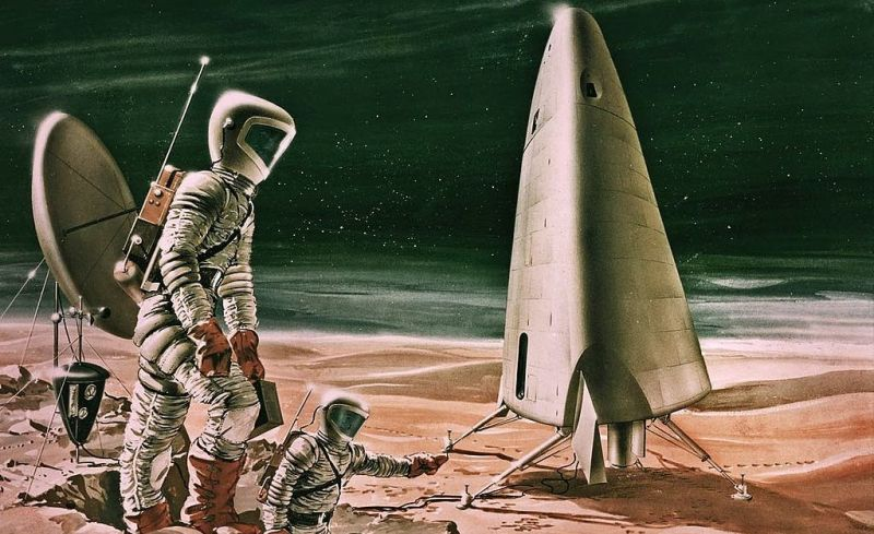 The dubious projects of flights to Mars and its colonization