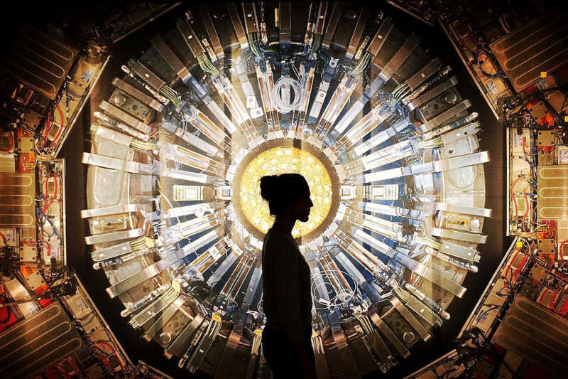 Refutes whether the Large hadron Collider, the existence of ghosts? Yet