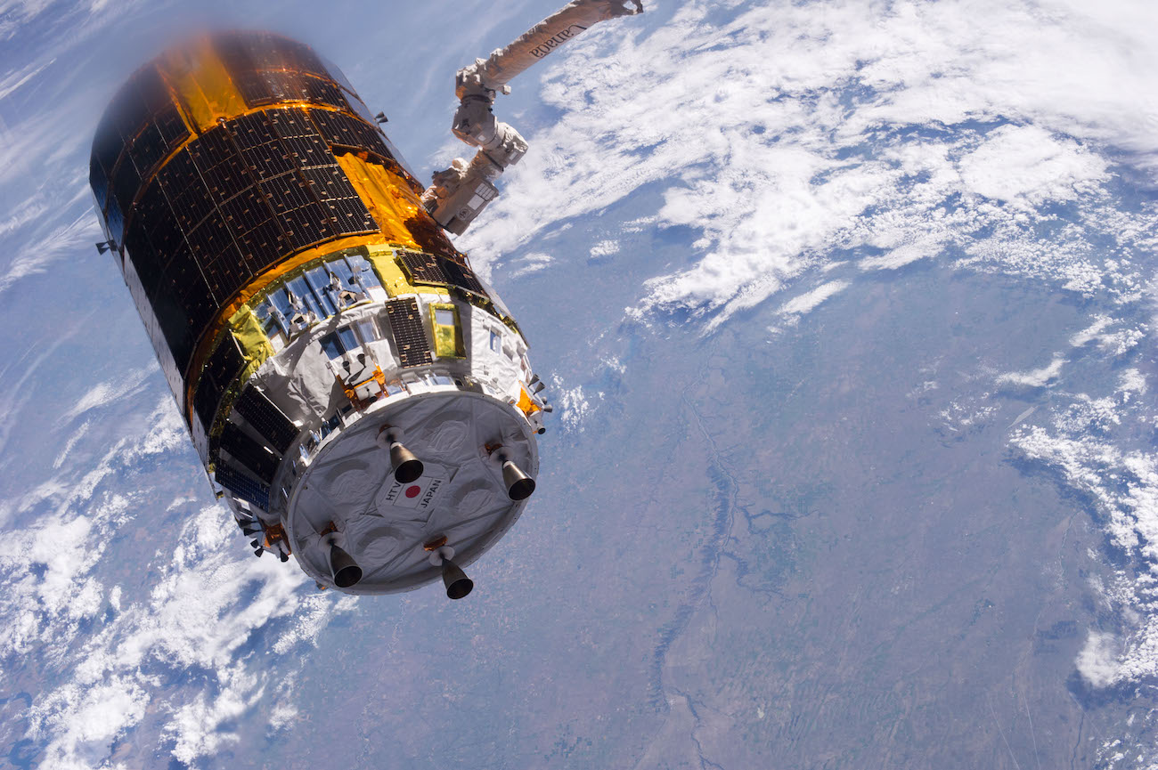 The experiment of cleaning the orbit from space debris began