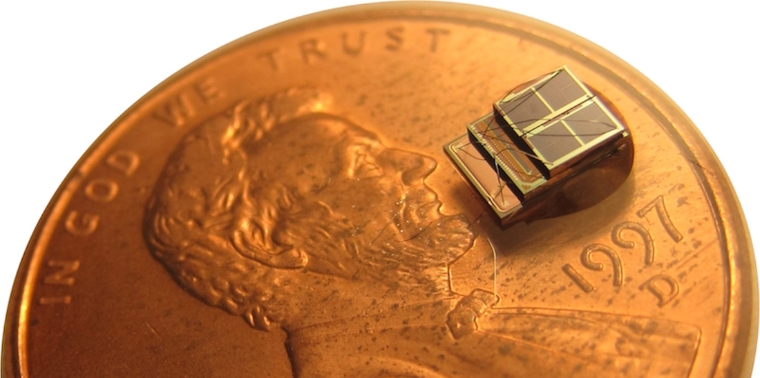 Company Micro Mote has created the world's smallest computer