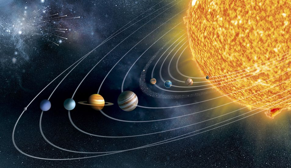 NASA scored four teams of scientists to study the Solar system