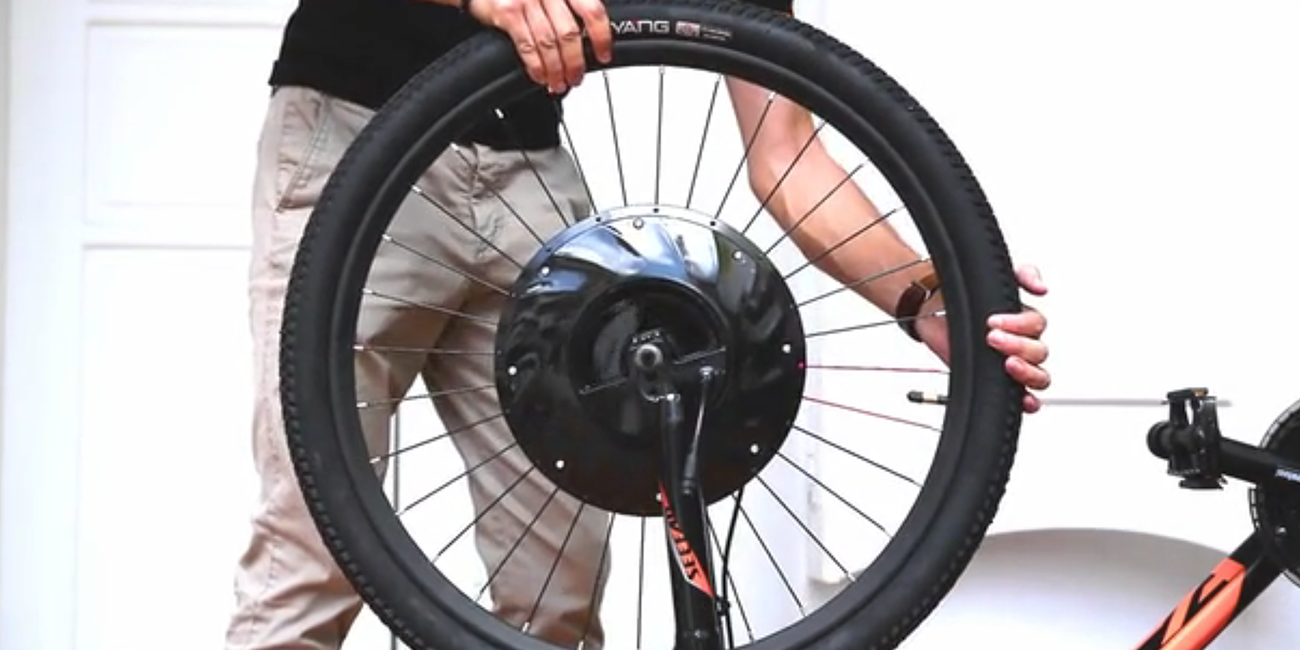 UrbanX wheel turns any bike into an electric