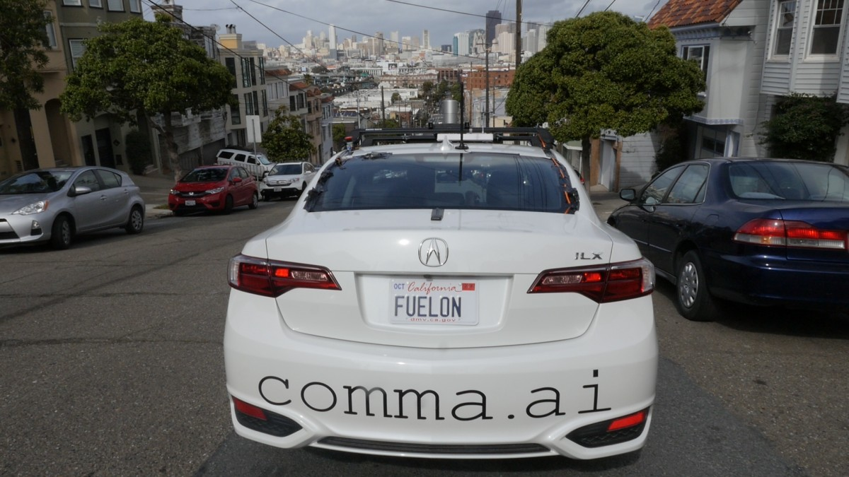 Comma.ai will be giving out the equipment for autopilots for free in exchange for data