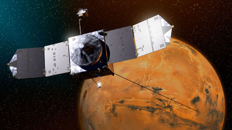 NASA spacecraft almost collided with one of the moons of Mars