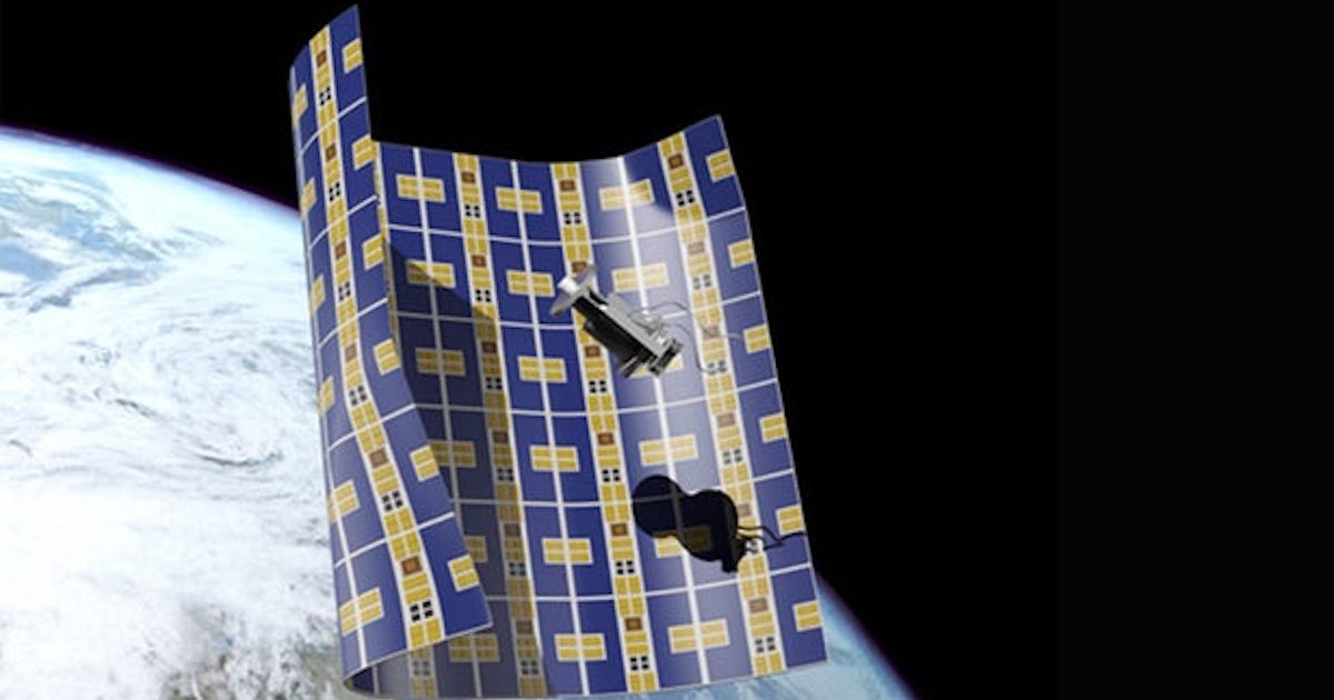The device thickness of a sheet of paper will help in cleaning the space debris