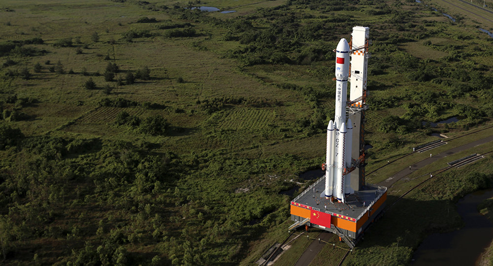 The Chinese government founded the centre for development of commercial space technologies