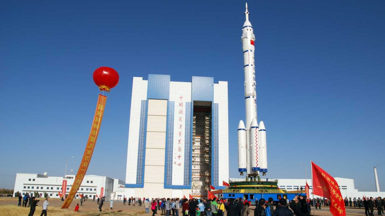 Today will be the launch of China's first space truck