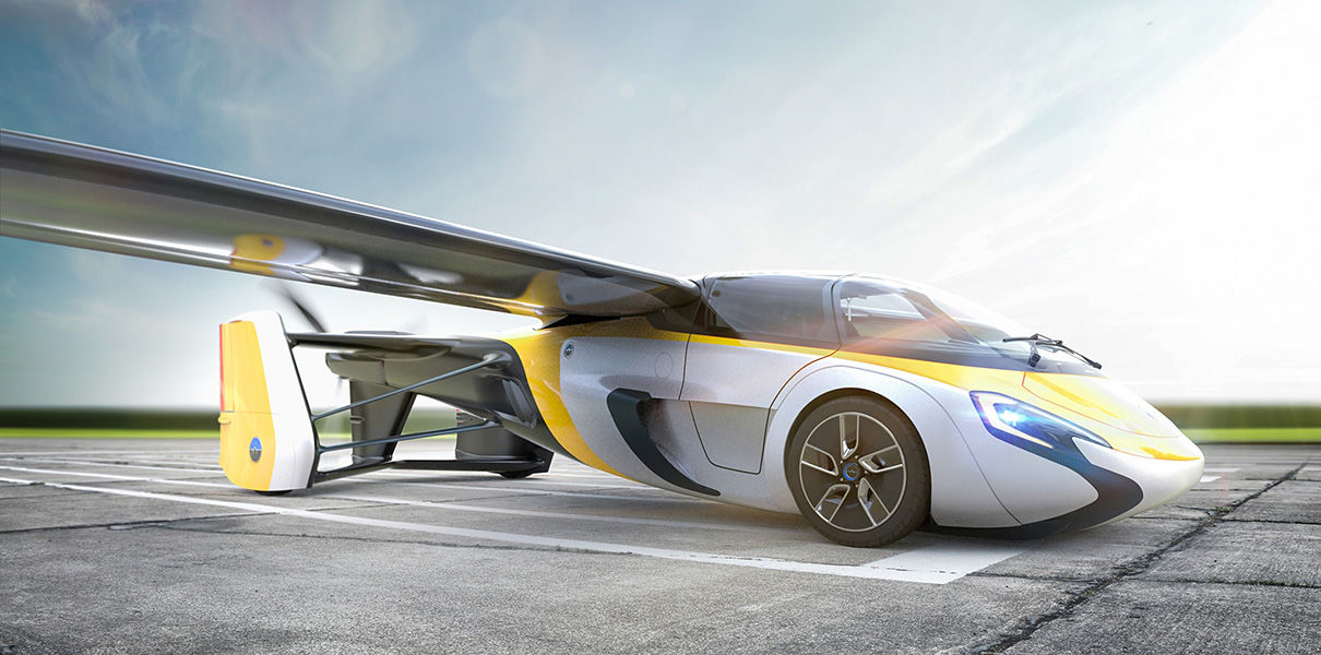 The flying car from AeroMobil shows this year