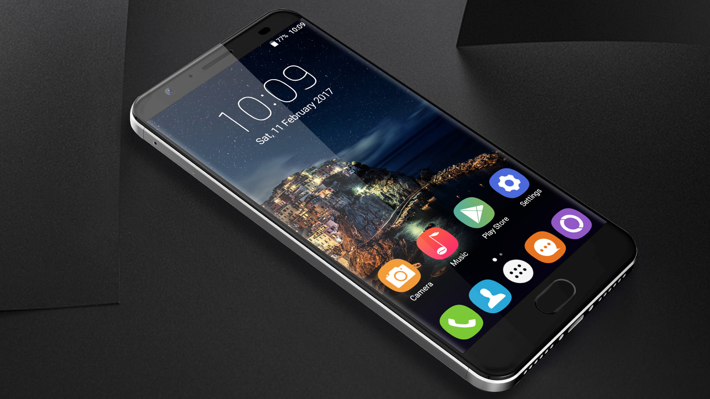 Smartphone OUKITEL K6000 Plus: charge for five minutes and talk for two hours