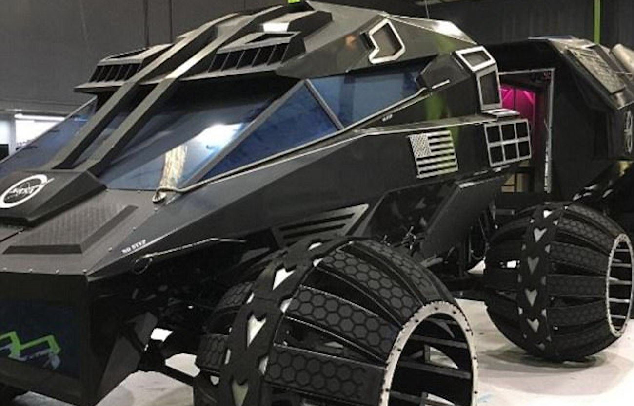 NASA introduced the Mars Rover combined with a mobile laboratory