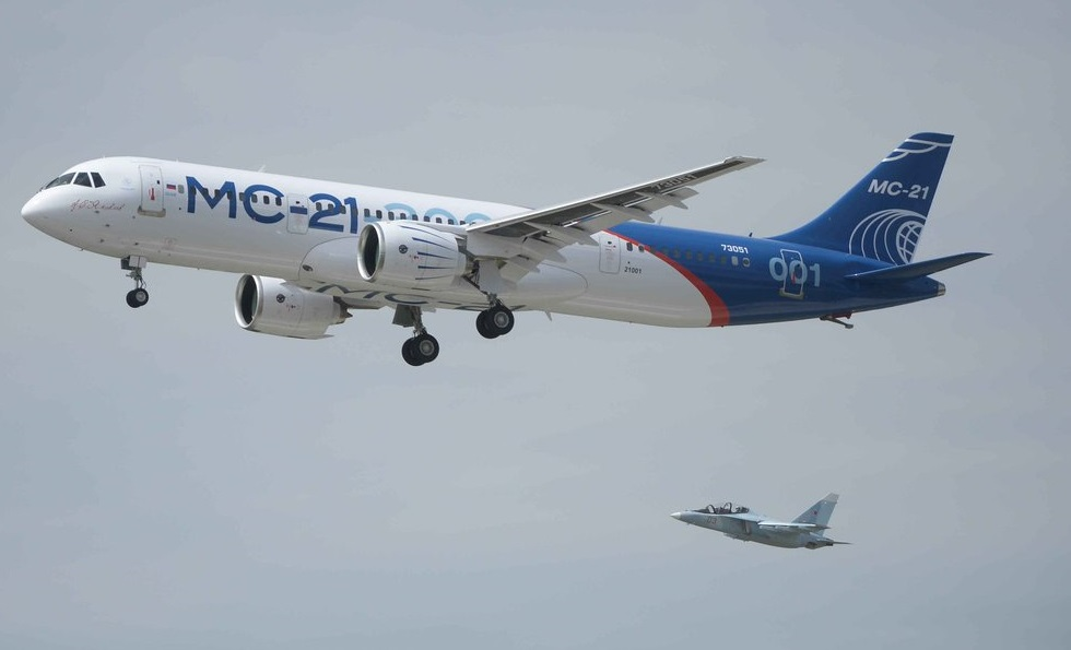 Russian MS-21 aircraft made its first test flight