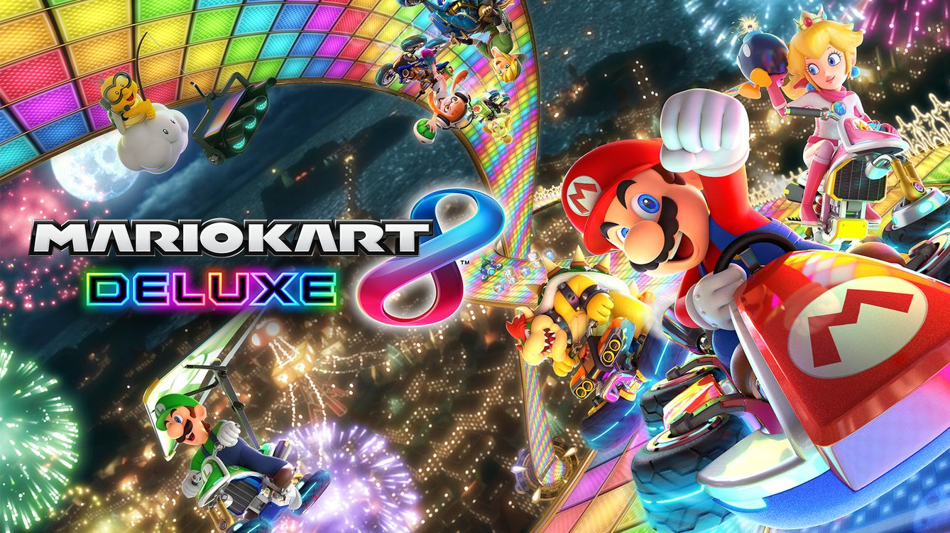 Review game Mario Kart 8 Deluxe