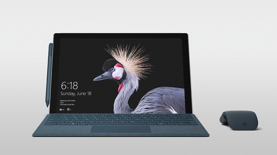 Microsoft introduced a laptop The New Surface Pro