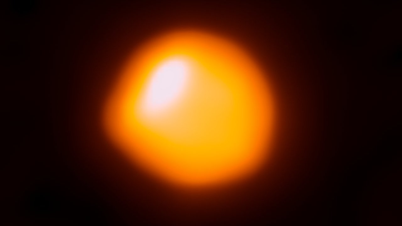 Astronomers have obtained the most detailed picture of the surface of a distant star