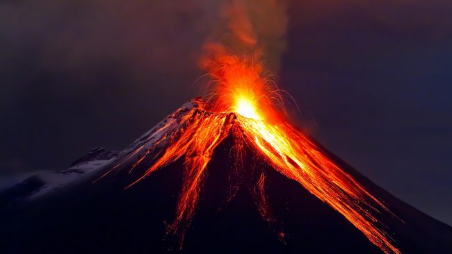 New evidence: dawn of the dinosaurs has ensured volcanoes