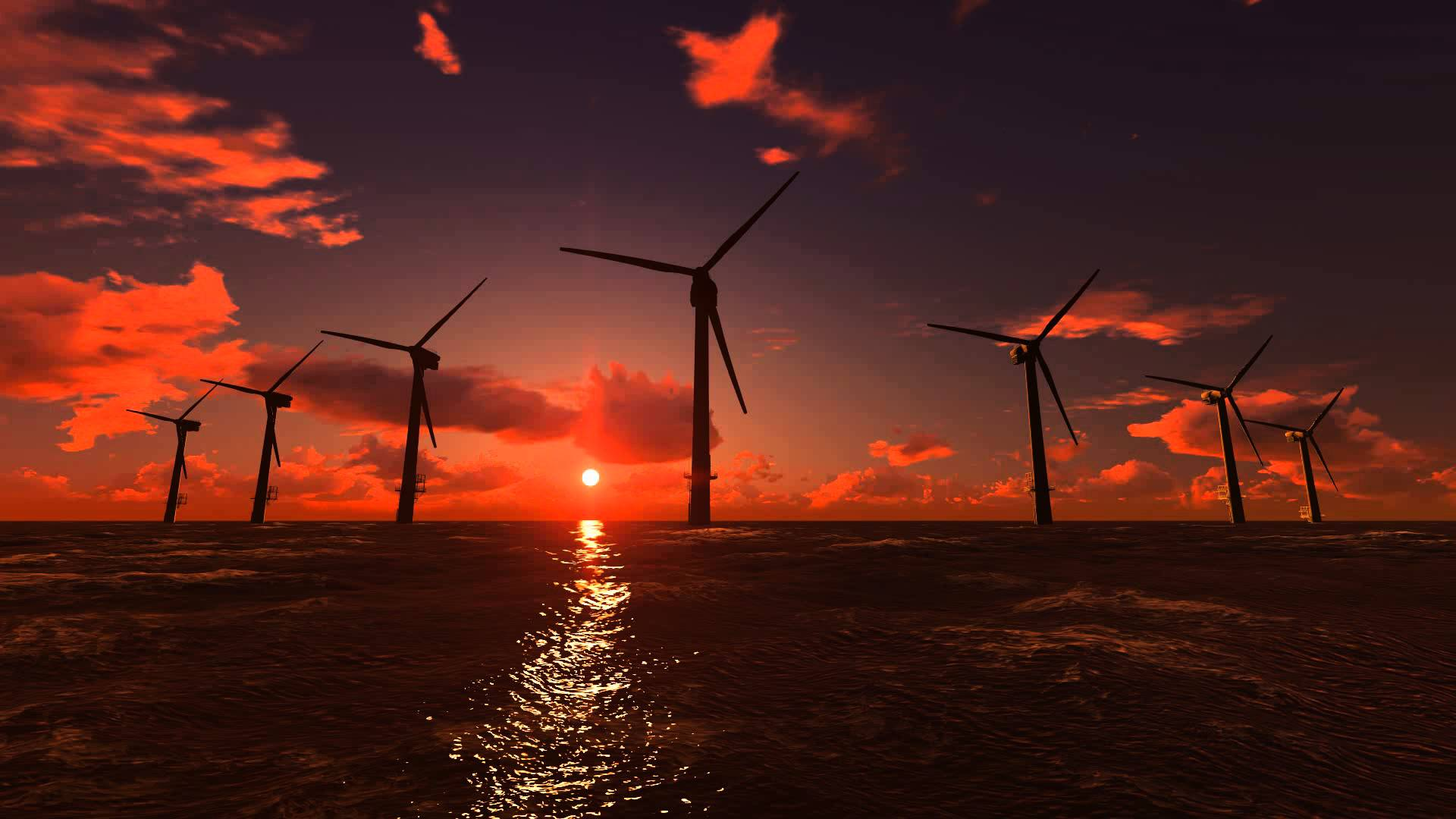 Wind energy became cheaper than combustible fuels