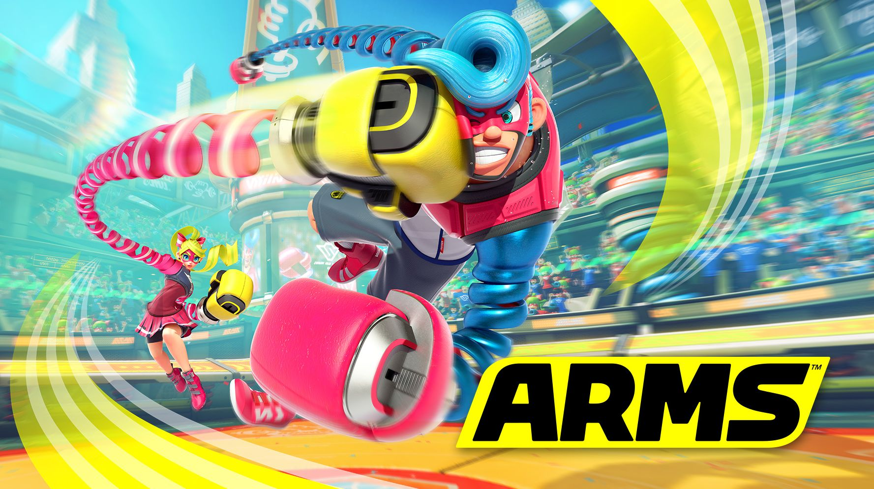 Review game ARMS: the most unusual fighting game of recent years