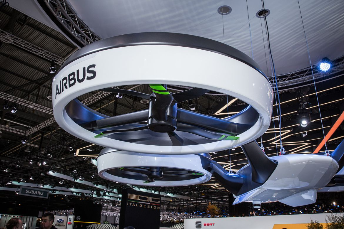 Airbus will begin testing passenger drones next year