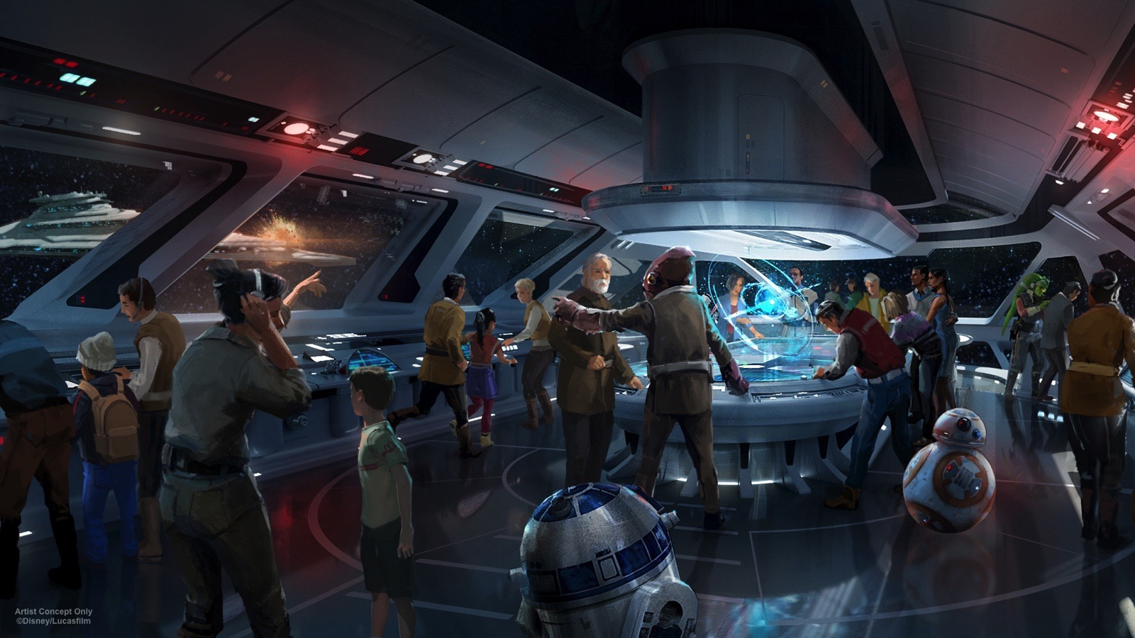 Amusement parks based on Star Wars, will open its doors in 2019