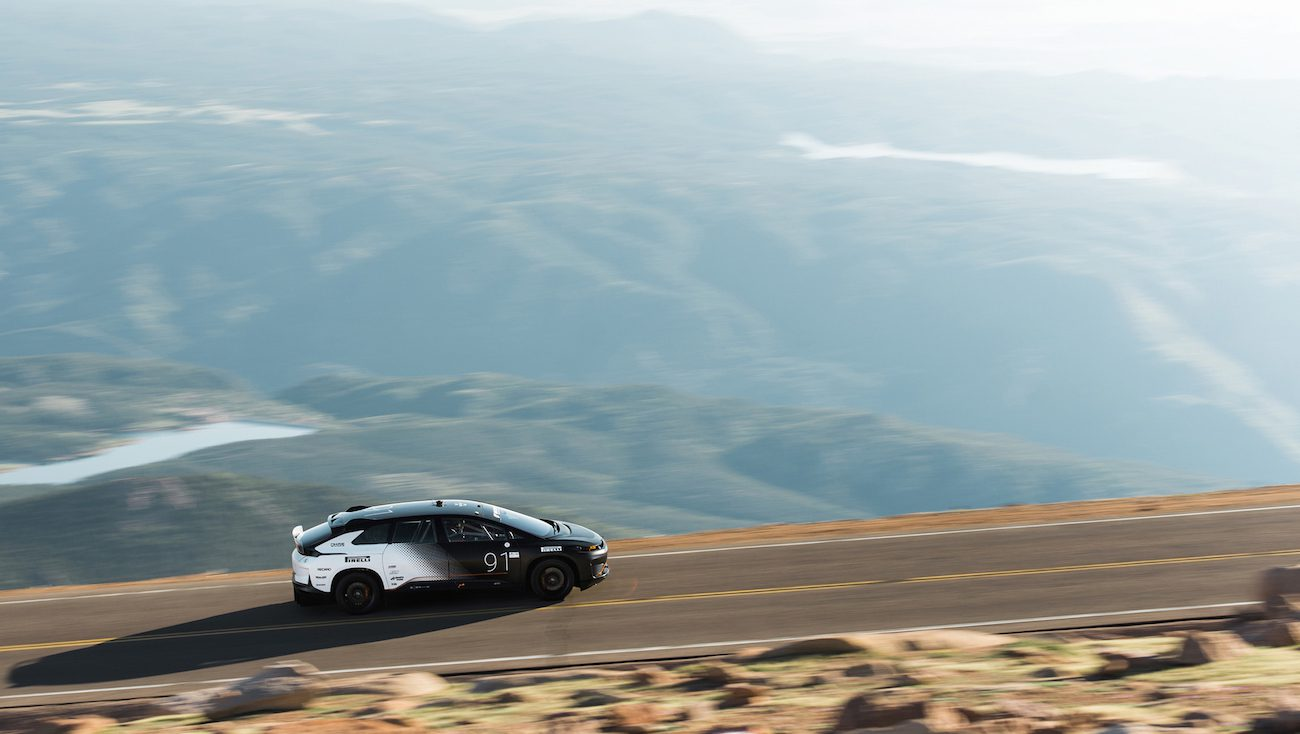 Electric Faraday Future FF91 set a new record