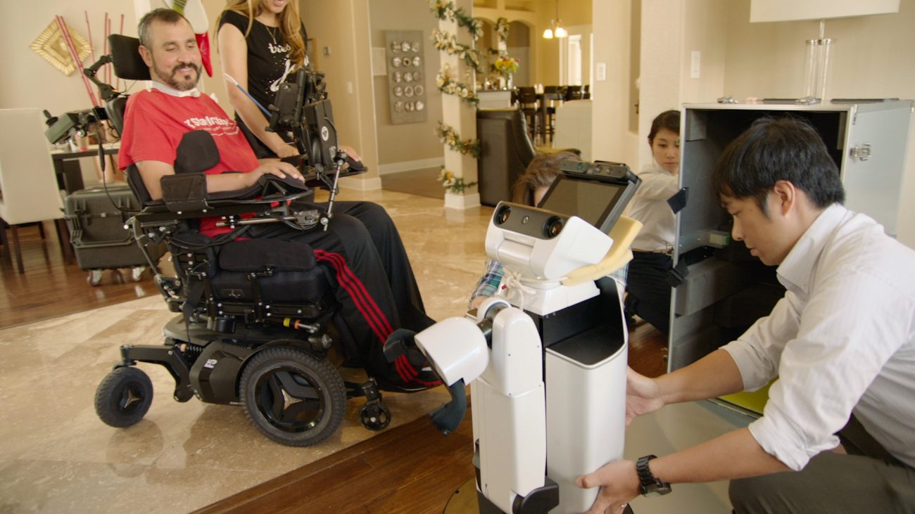 Robot from Toyota began to help disabled at home