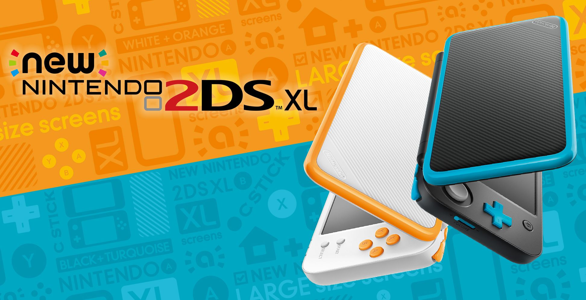 An overview of the game console, New Nintendo 2DS XL