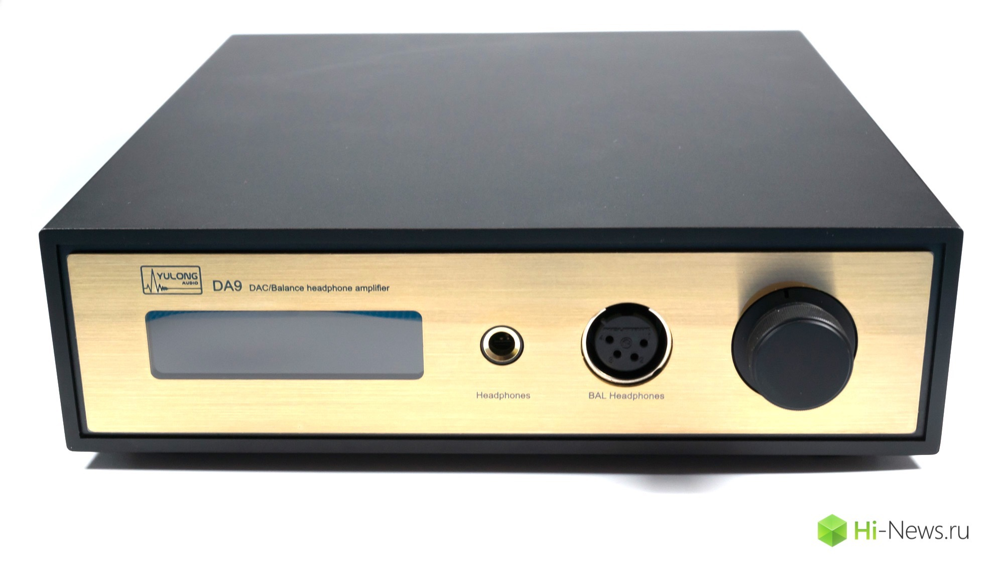 Overview DAC and headphone amplifier Yulong DA9 — a new word