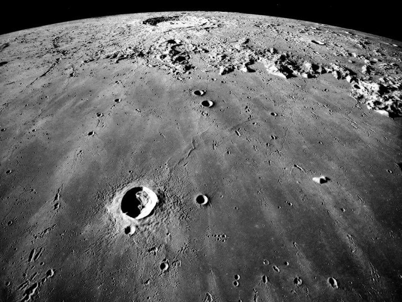 On the moon discovered oxygen terrestrial origin