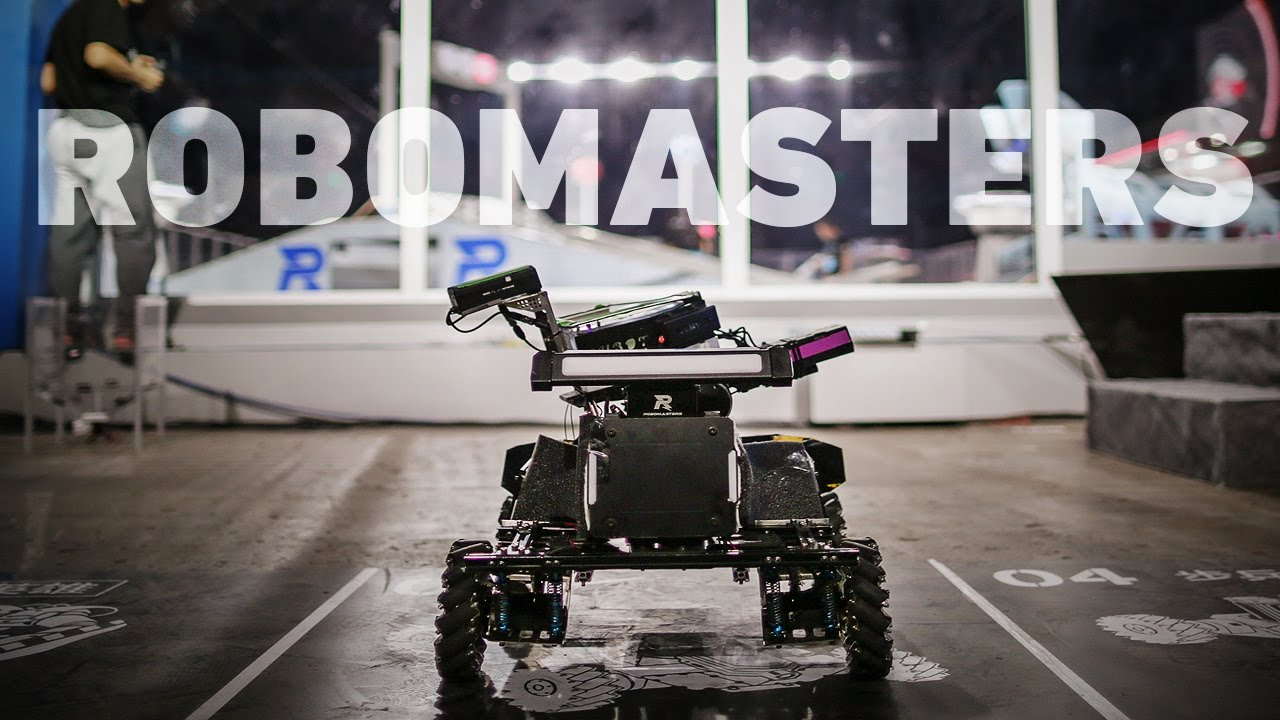China won in the competition of small Autonomous combat robots