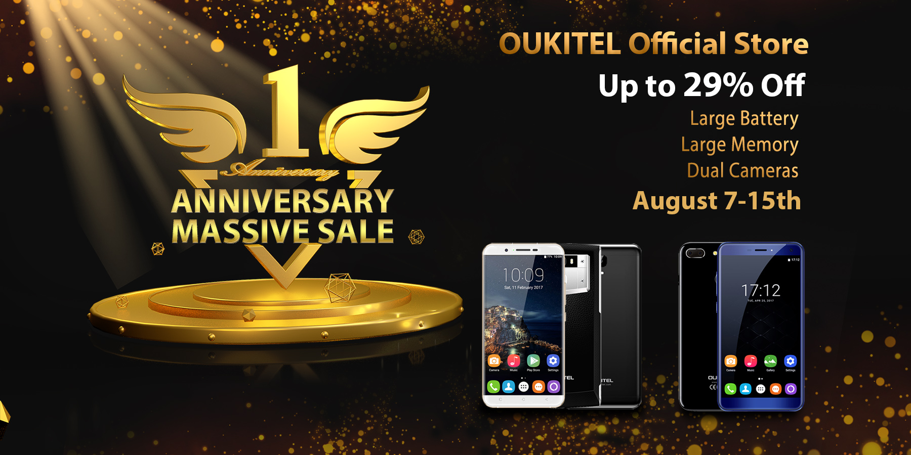The smartphone maker is celebrating the birthday of a major sale