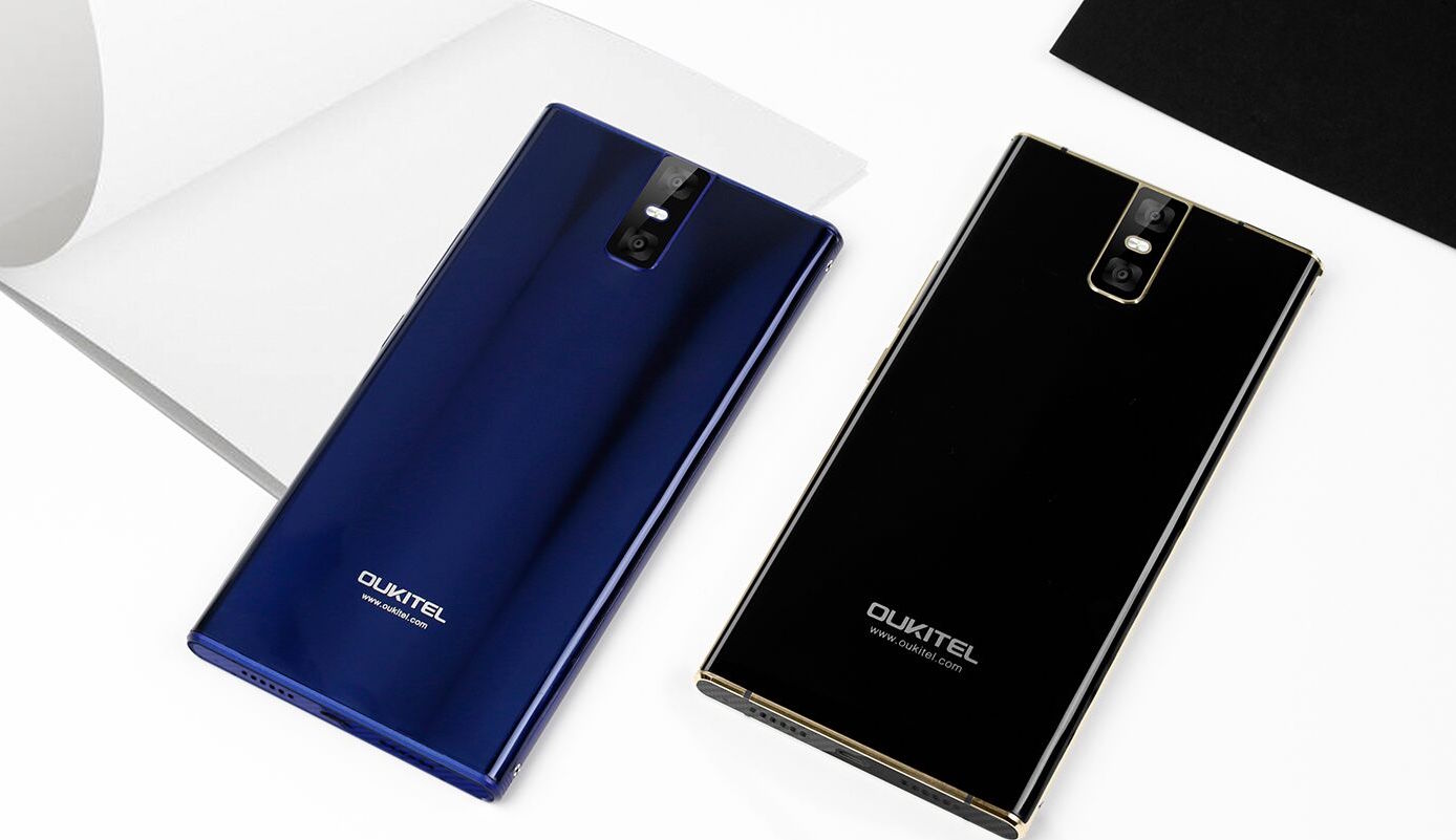 Smartphone OUKITEL K3 appeared in the video