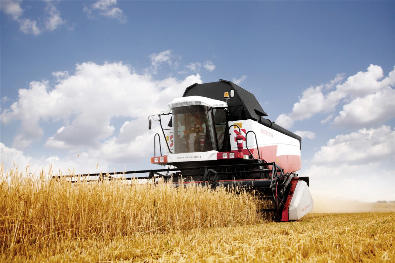 Cognitive Technologies conducted the first tests of unmanned harvester