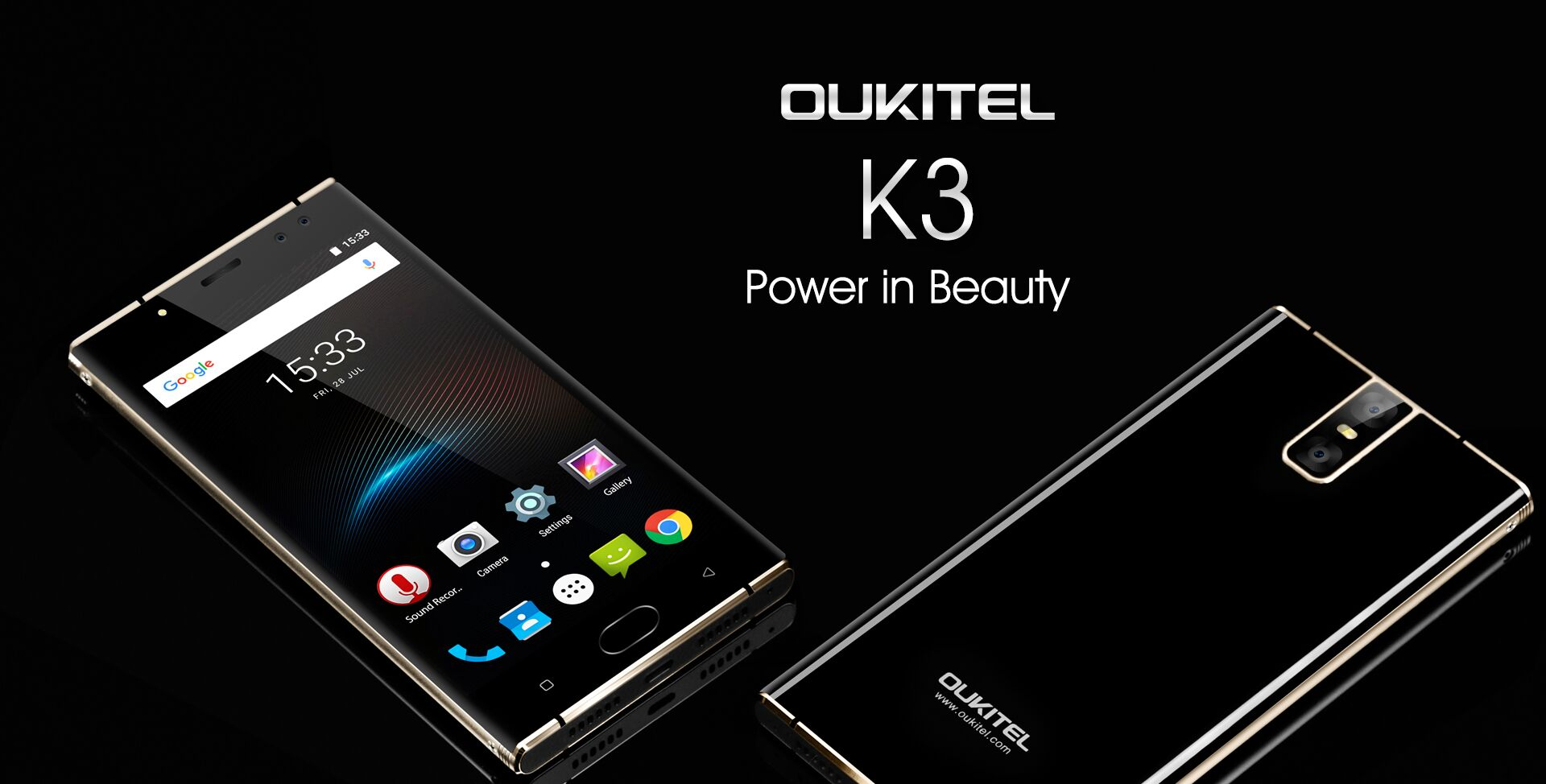 Became known specifications of the smartphone OUKITEL K3
