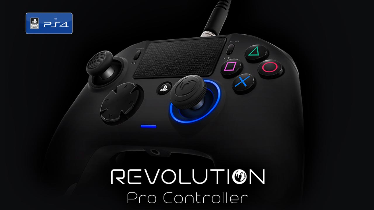 Overview professional gaming controller Nacon Revolution Pro Controller
