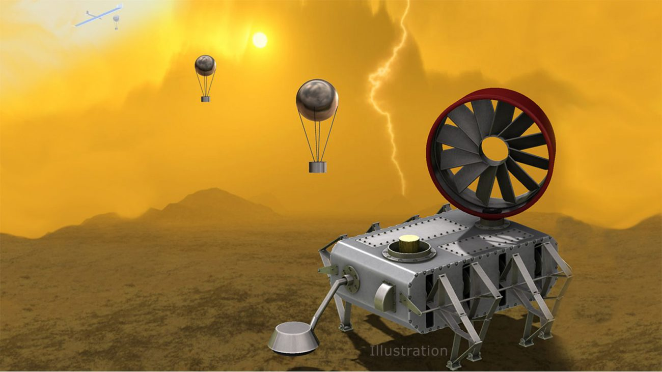 AREE: spacecraft to study the surface of Venus