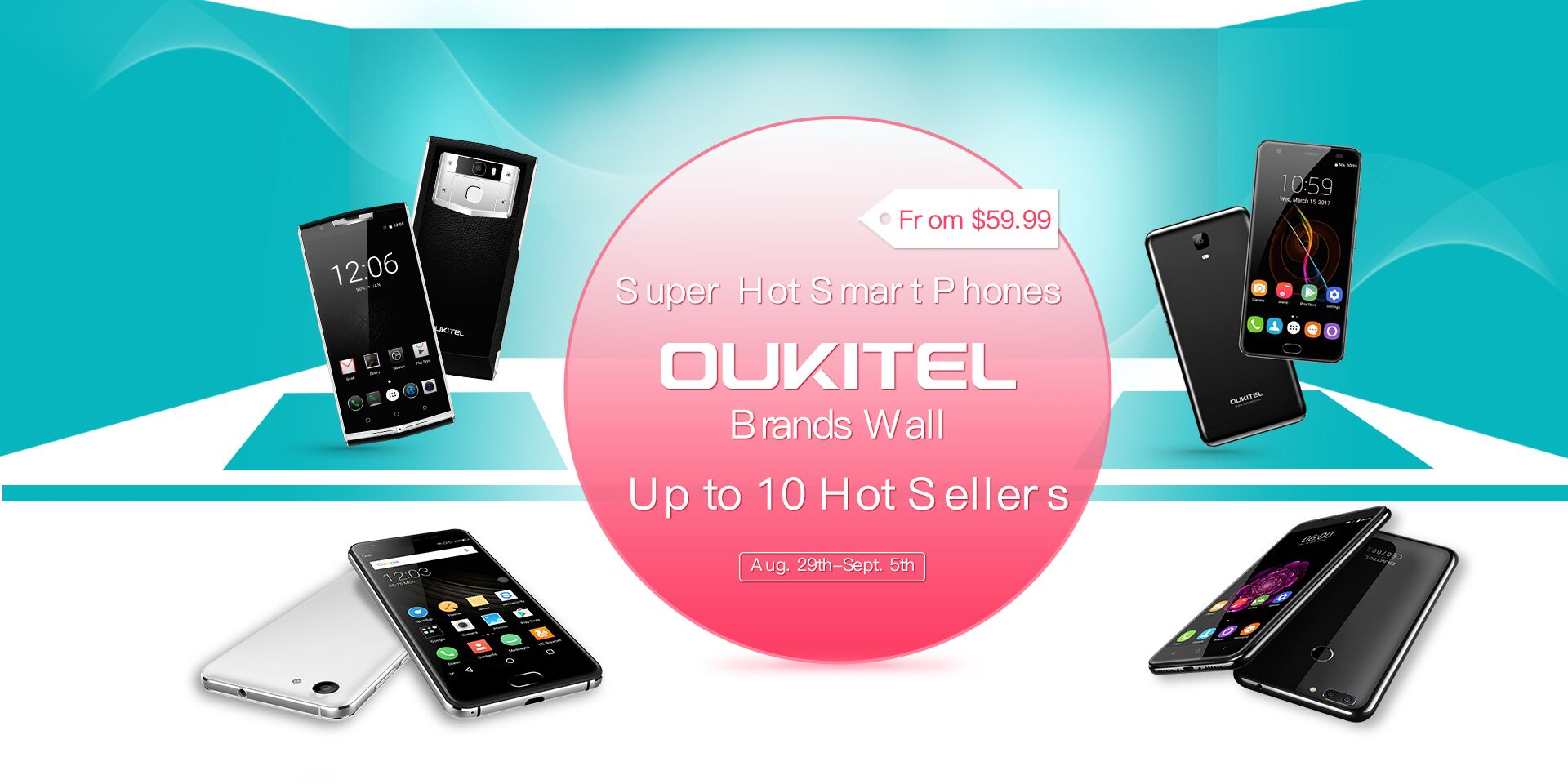 The sale of smartphones, not to be missed