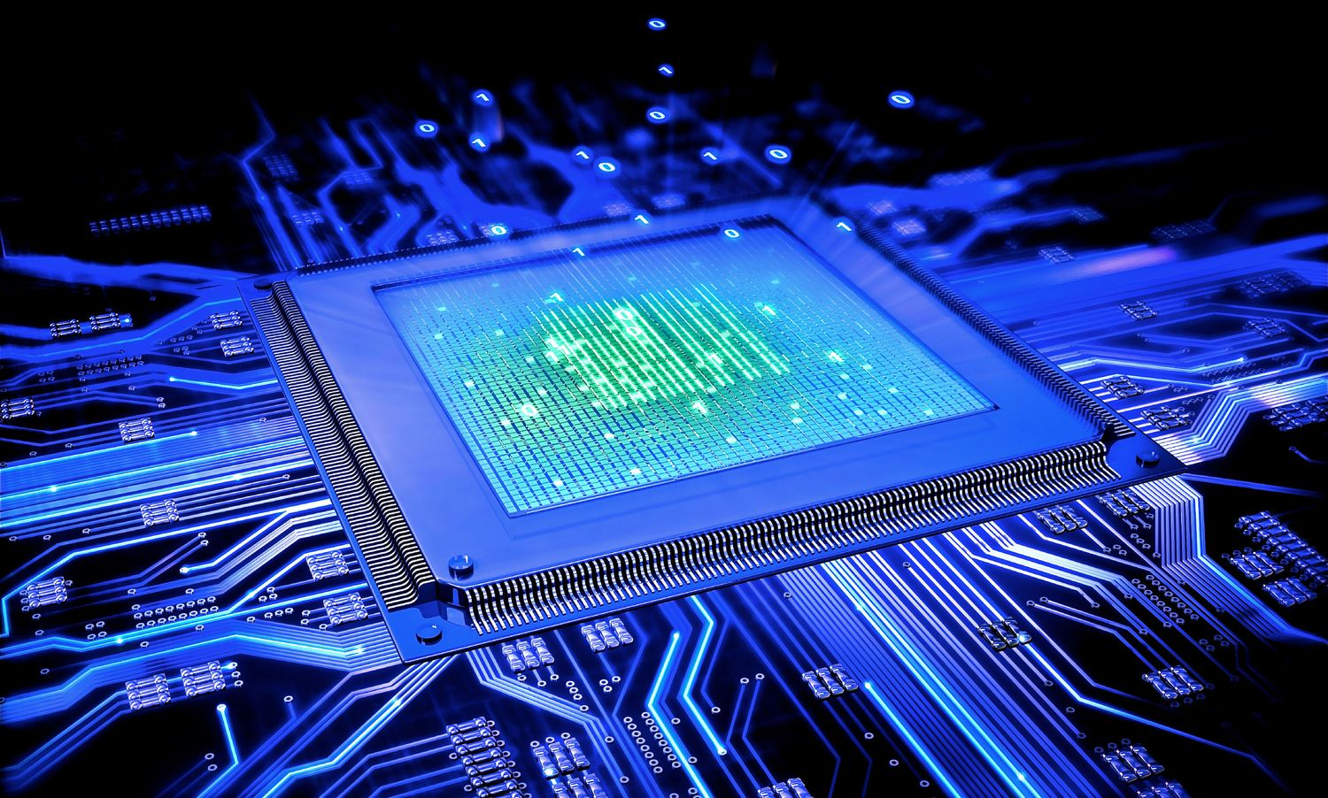 Scientists have created the first quantum microchip memory