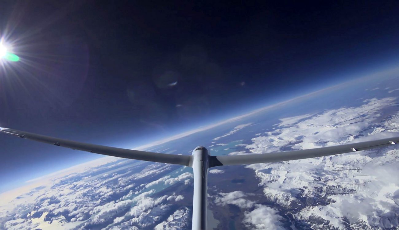 The Perlan glider set a new altitude record