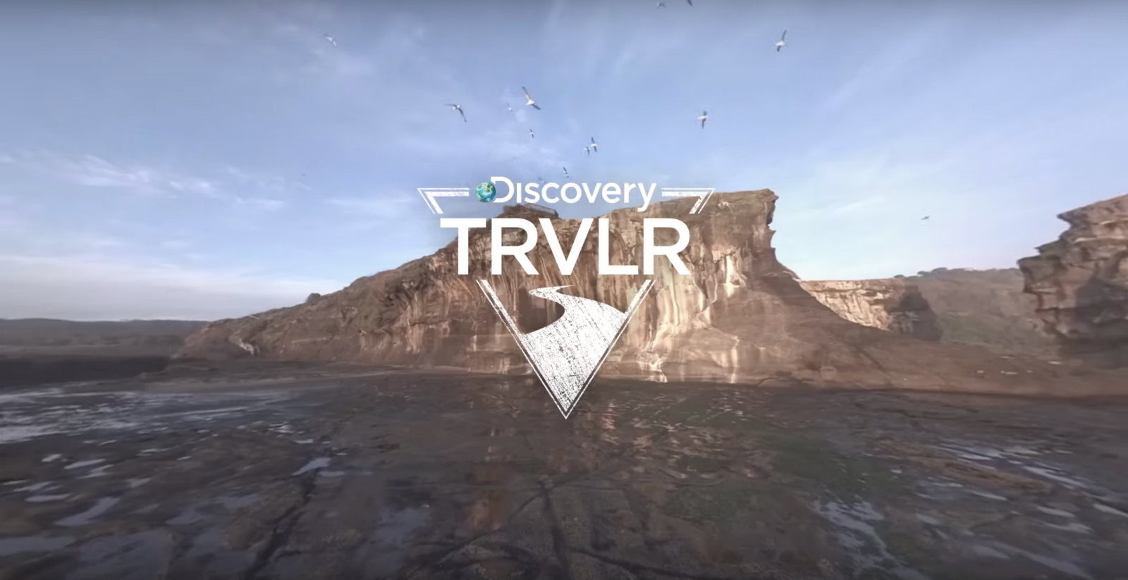 Discovery and Google took the VR-series about a trip around the world