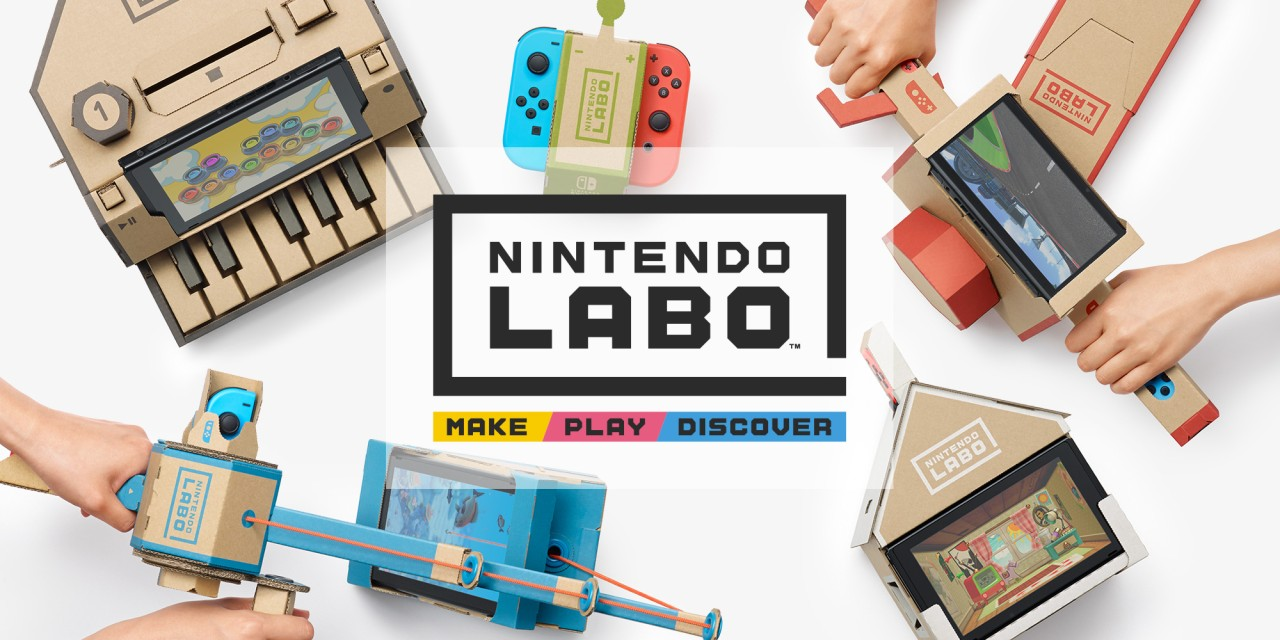 Nintendo LABO: the Japanese introduced a series of accessories made of cardboard for Switch