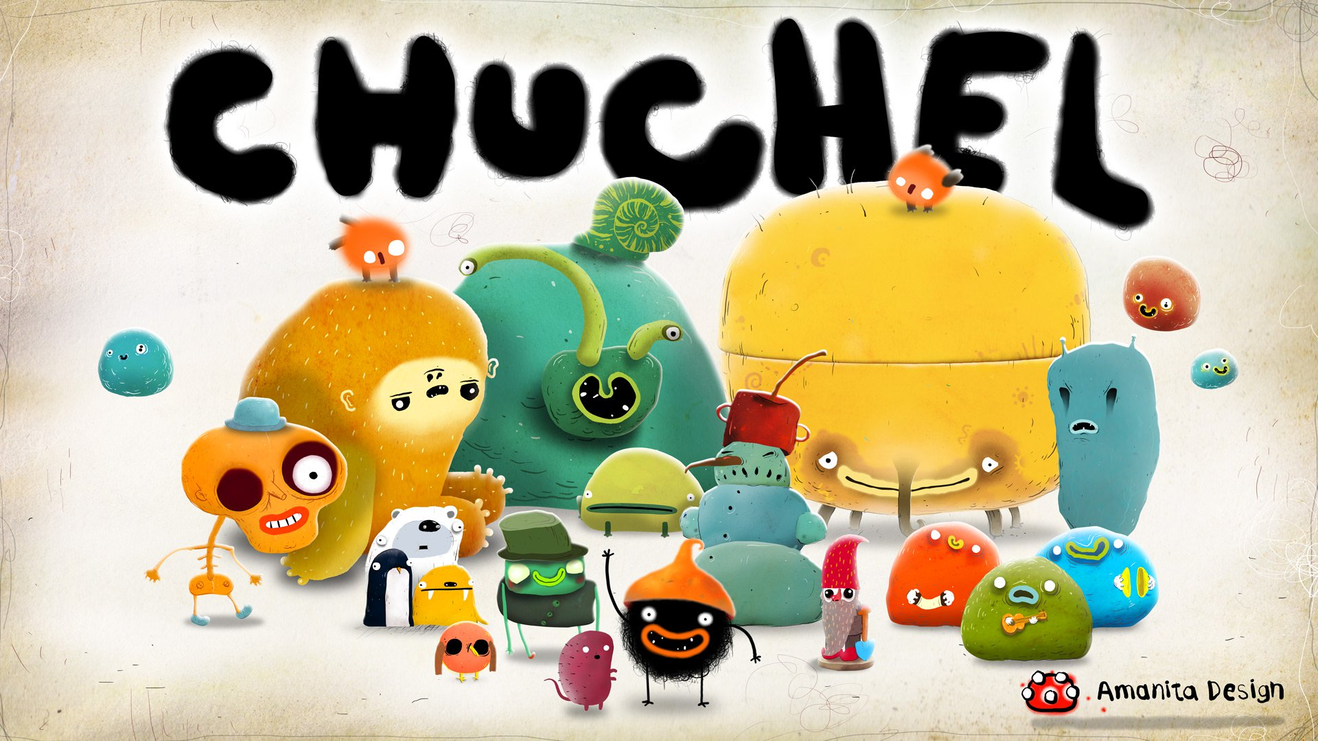 Review game CHUCHEL: cherry madness in Czech