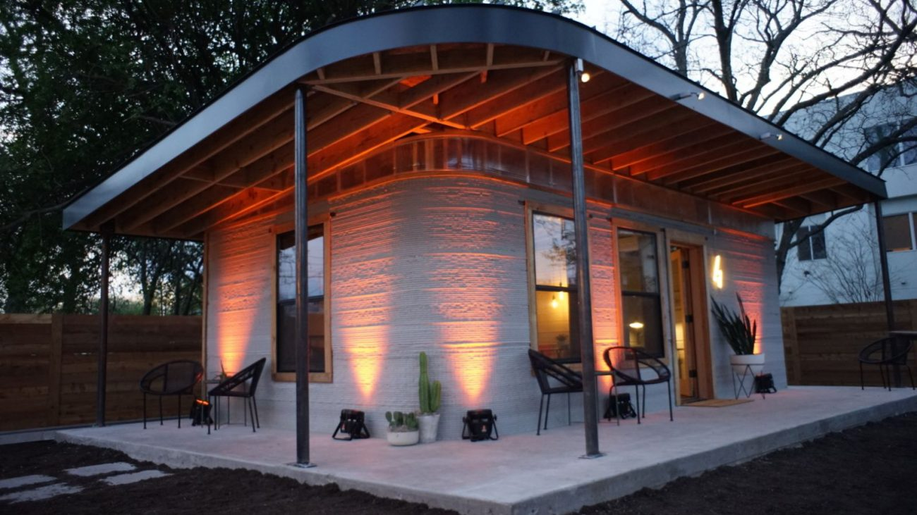 The technology of 3D printing to produce houses less than 24 hours