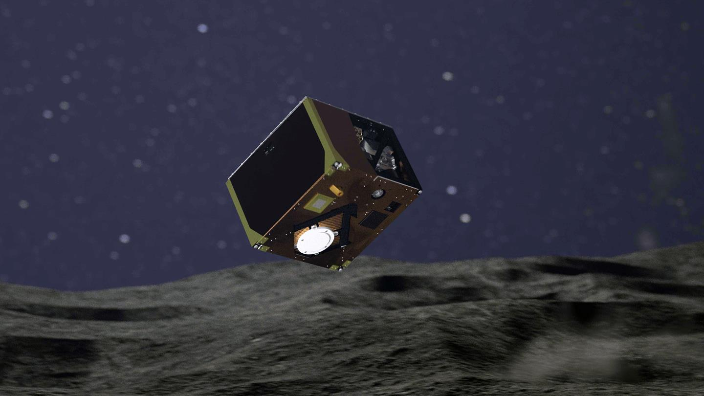On the surface of the asteroid Ryugu successfully landed the third apparatus