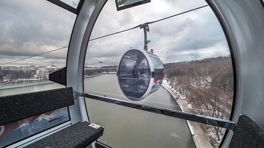 In Moscow, an attack on the new cable car