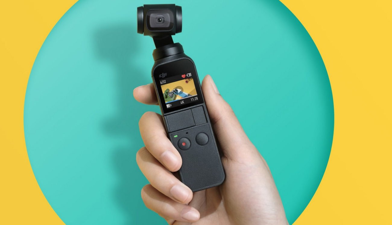 DJI introduced the action-camera Osmo Pocket which has no analogues