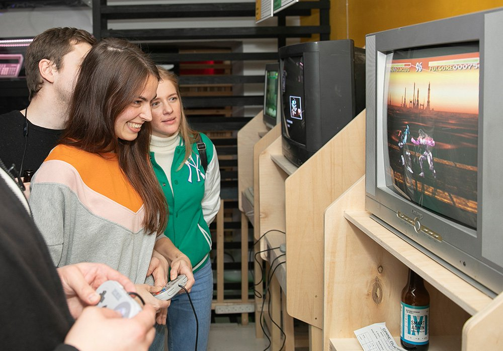 In Russia passed the first tournament on old video games