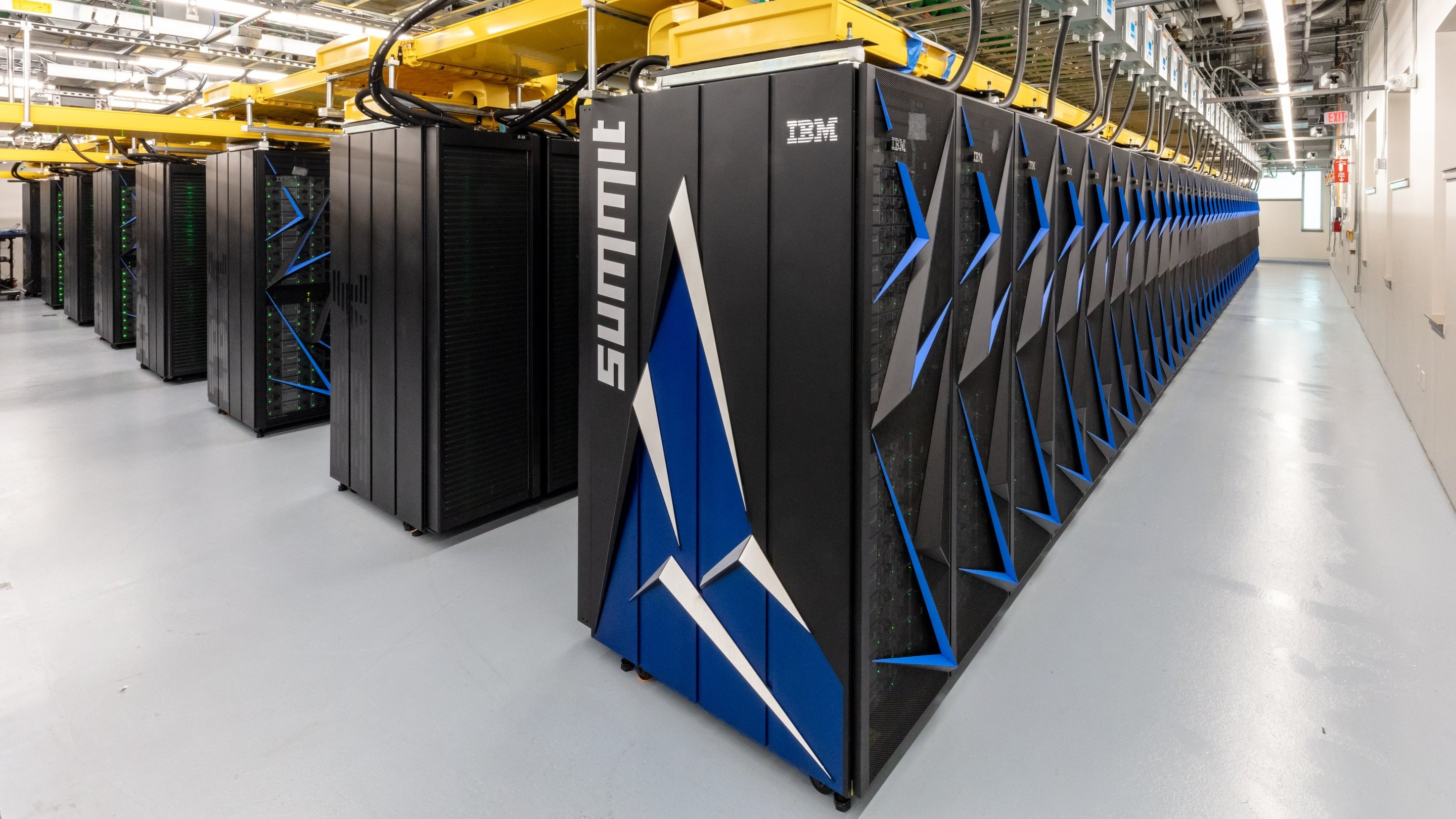 The fastest supercomputer in the world broke the record of artificial intelligence