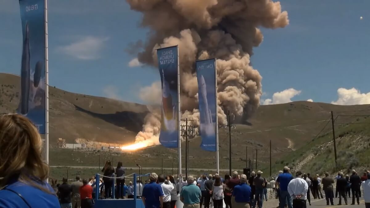 #video | Nozzle Omega new missiles for the US air force exploded during tests