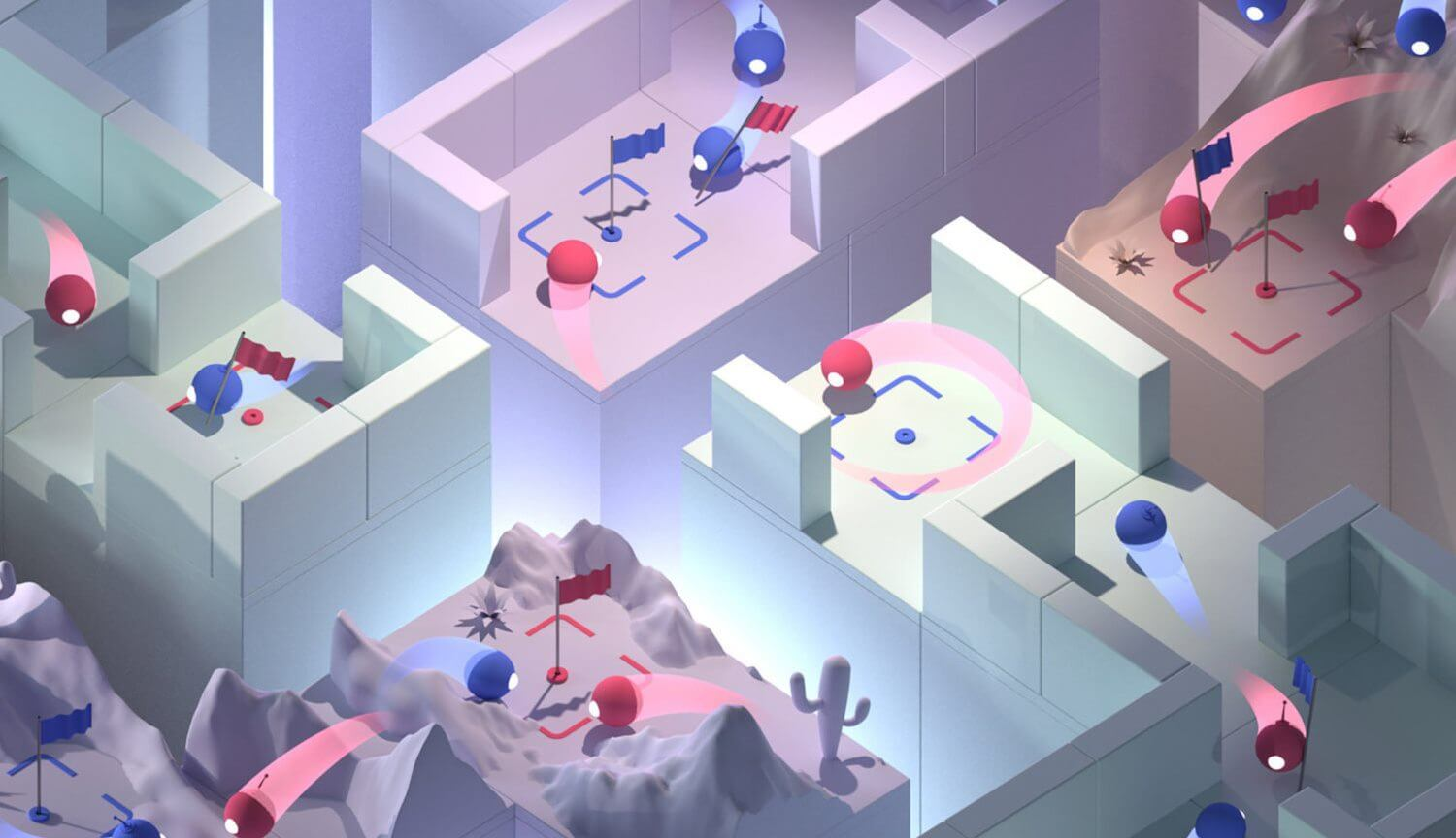 Artificial intelligence DeepMind beat people at Quake III Arena